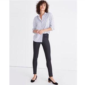 "Madewell 9"" High-Rise Skinny Jeans Coated"